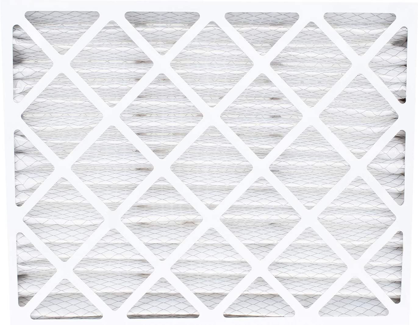 FilterBuy 20x25x5 Air Bear Trion 229990-102 Compatible Pleated AC Furnace Air Filters MERV 8, AFB Silver 2 Pack