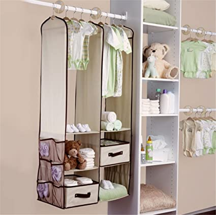 24pcs Children Nursery Closet Organizer Set Baby Clothes Hanging Wardrobe Storage Baby Clothing Kids Toys Organizer Furniture Children Furniture