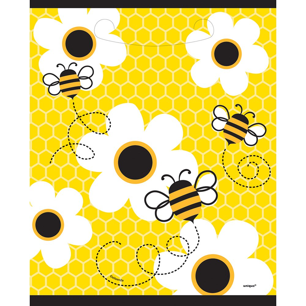 Amazon Bumble Bee Favor Bags 8ct Adult Sized Costumes Kitchen Dining