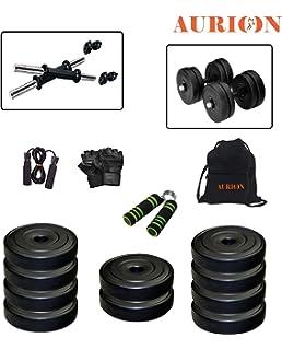 62bb603d700 Buy Protoner PVC Adjustable Dumbbells Set (24 Kg). Online at Low ...