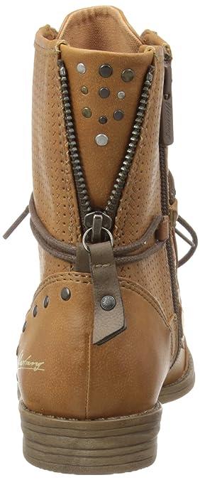 66a295b627d0 Mustang 1157-503-20 Damen Stiefel   Stiefeletten(dunkelgrau)  Amazon.de   Schuhe   Handtaschen