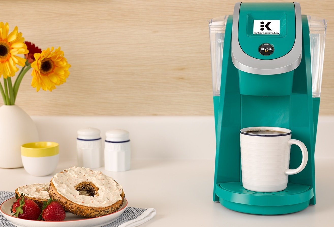 Keurig K250 Single Serve, Programmable K-Cup Pod Coffee Maker with strength control, Turquoise by Keurig (Image #7)
