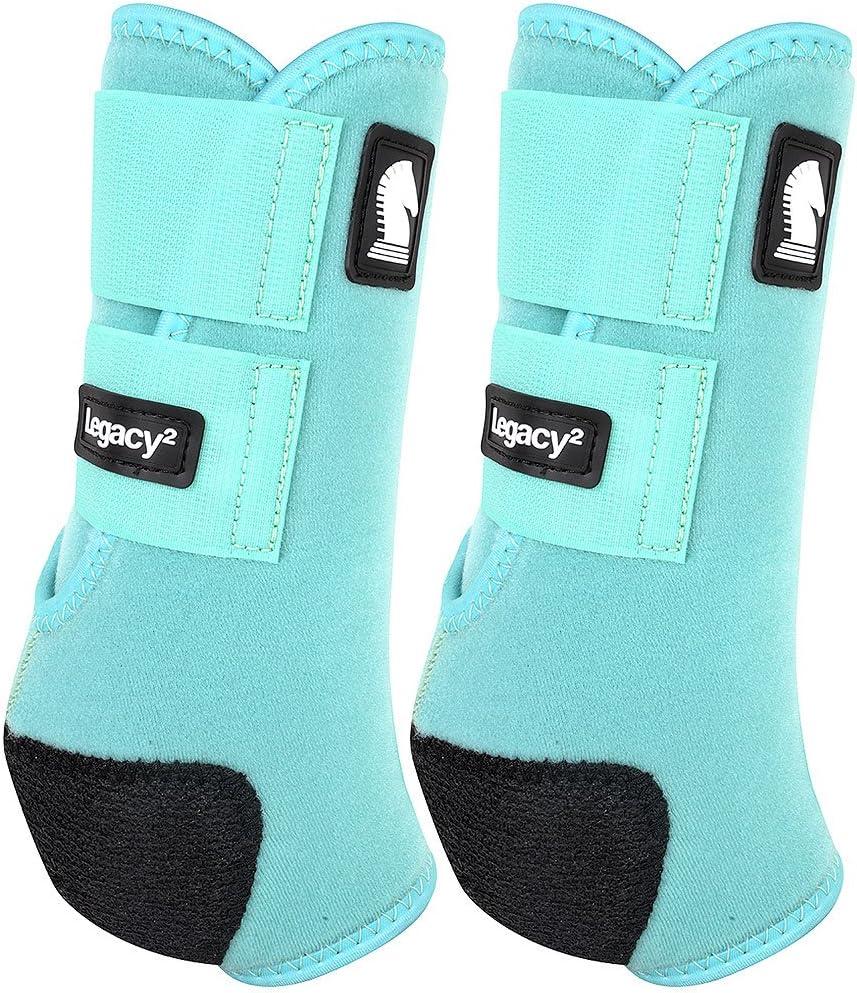 クラシックロープ会社legacy2前面保護用ブーツ2パックSミント