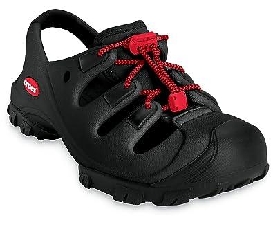 8b61eb0f6943 Crocs Trailbreak Kids Black Unisex Kids Sport Sandals Size 3 Uk   Amazon.co.uk  Shoes   Bags