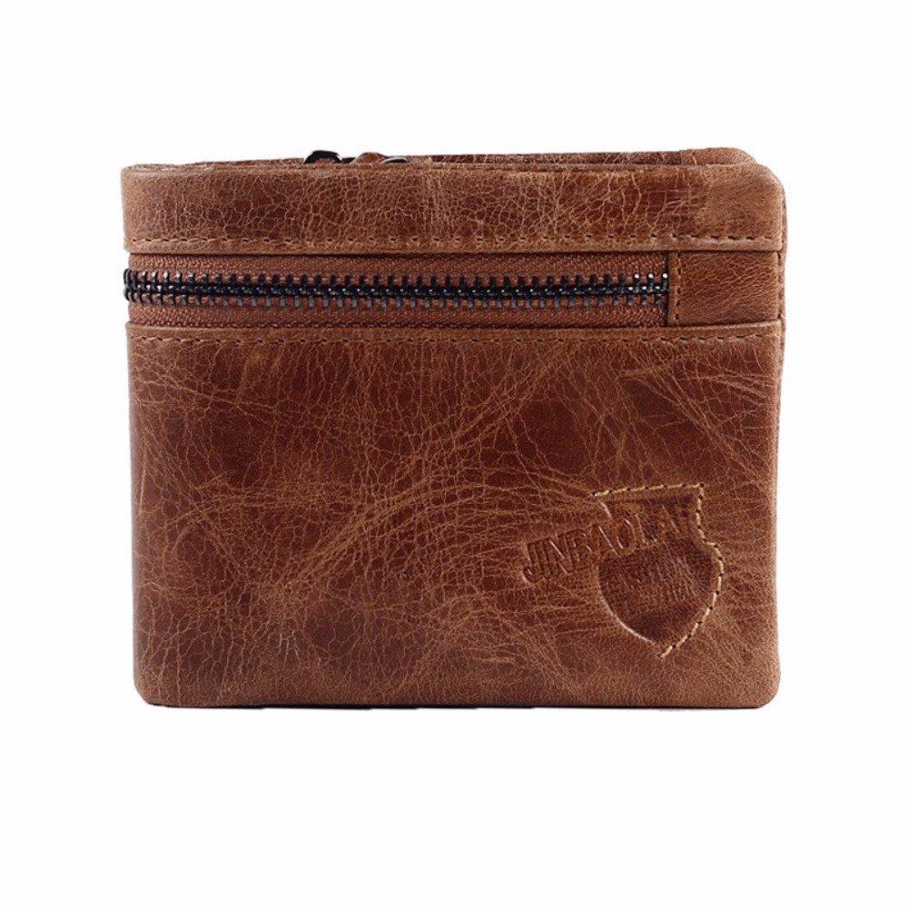 Genuine Leather Wallets Male Long Men Wallets Mens Purse Portfolio Alligator Crocodile Slim Wallet Magic Wallet Cartera at Amazon Mens Clothing store: