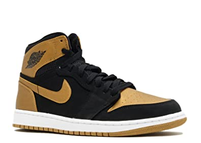 finest selection 39208 f066e Nike Air Jordan 1 Retro High Sz 13.5 Mens Basketball Shoes Black New In Box