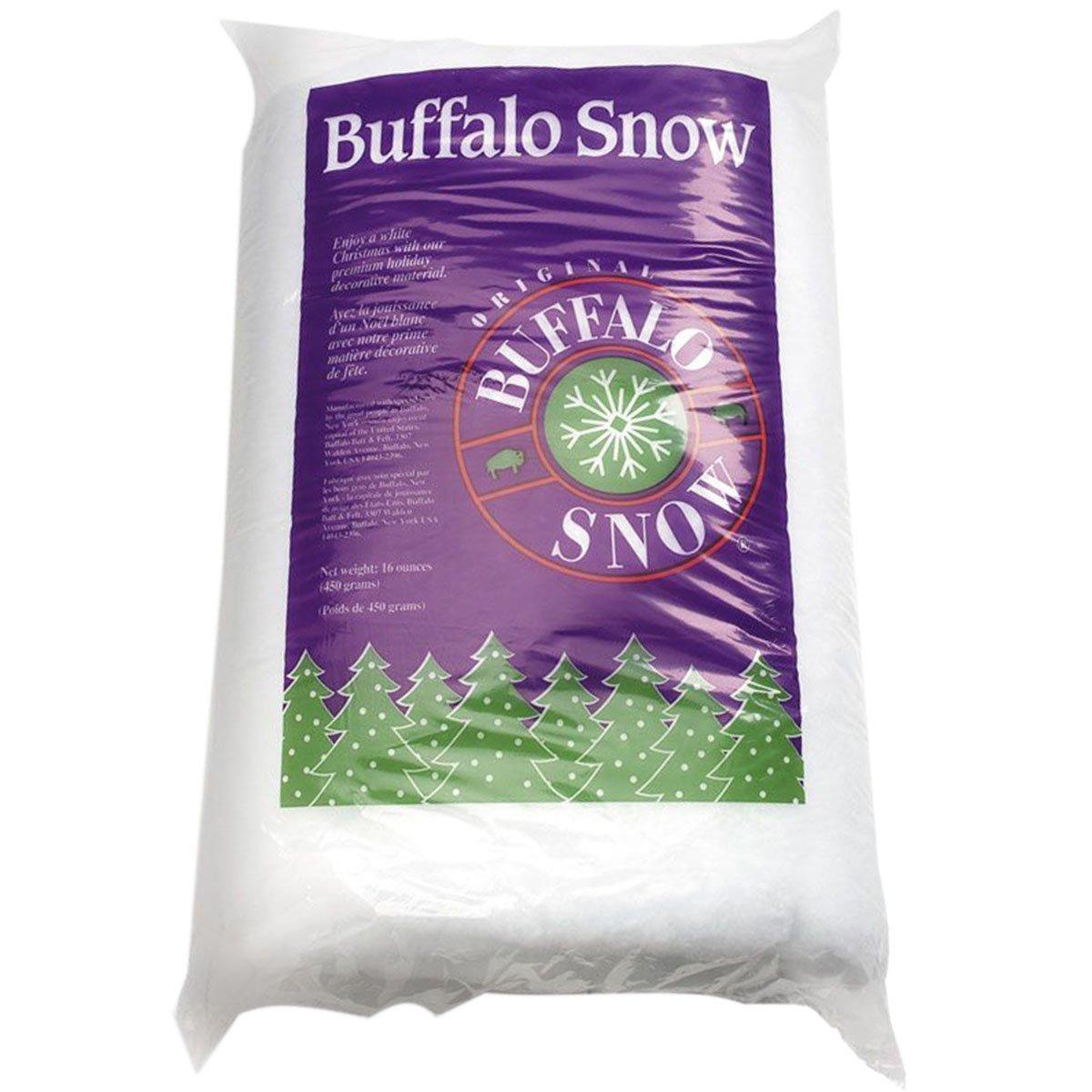 BUFFALO BATT & FELT CB1339 Buffalo Snow for Christmas Decoration, 16-Ounce 900540