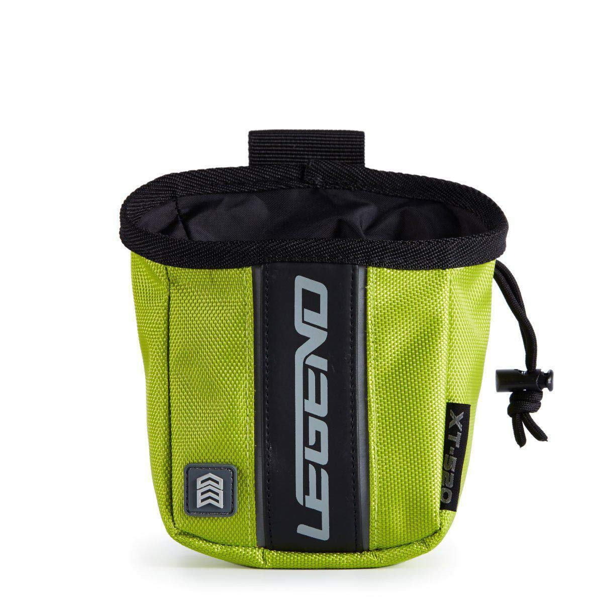 Legend Archery Release Aids Pouch Bag with Belt Loop Draw String and Zipped Pocket XT520 (Green) by Legend