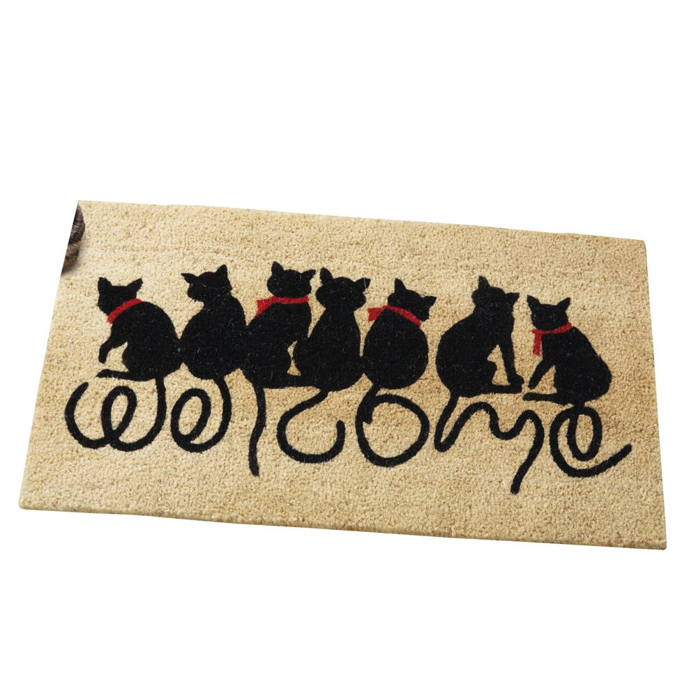 and the footprints mat mats cat baby to damn welcome product good dog zoo doormat