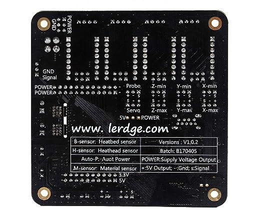 Screen 3D Printer ARM 32Bit Motherboard Control Board Mainboard LERDGE-X