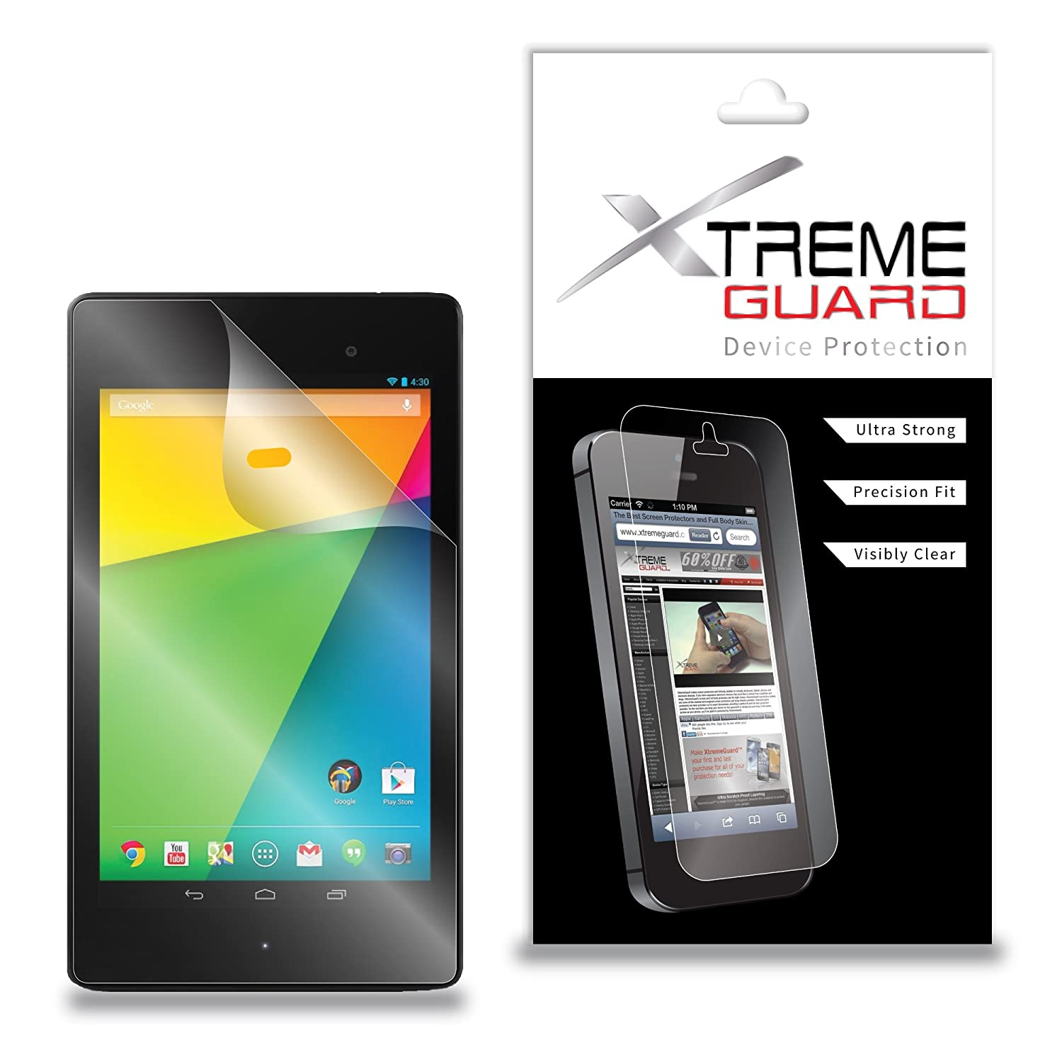 """2 Pack Clear Tablet Screen Protector Guard For 10.1/"""" Asus Transformer Mini"""