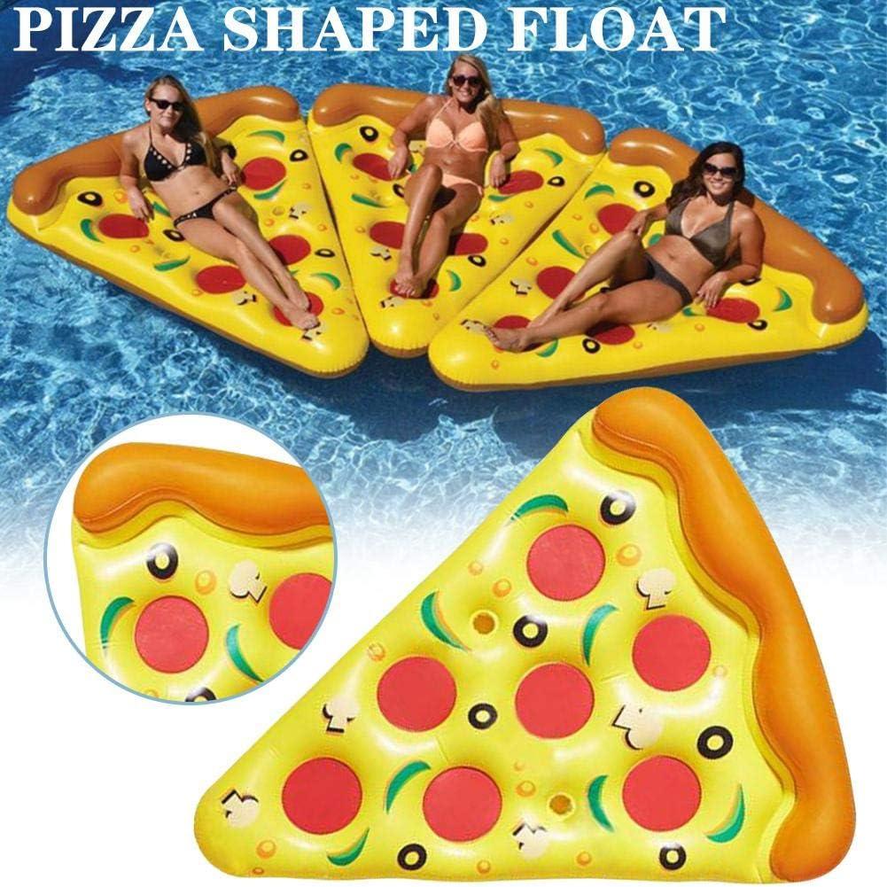 Sanmubo - Flotador Hinchable de Piscina de Pizza Supreme Pizza ...