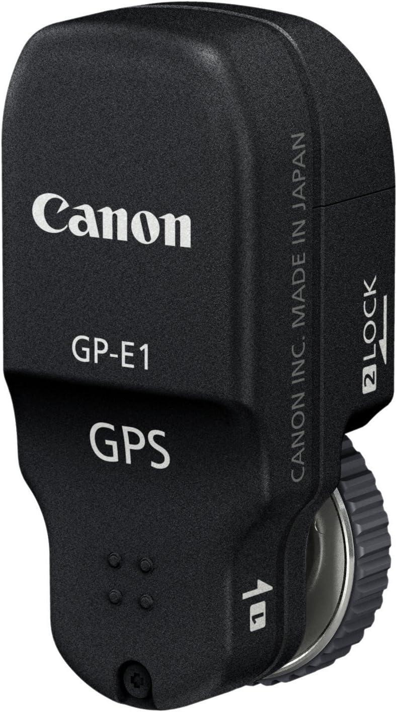 Canon GPS GP-E1 - Modulo Receptor GPS para cámara Canon EOS 1Dx, Negro