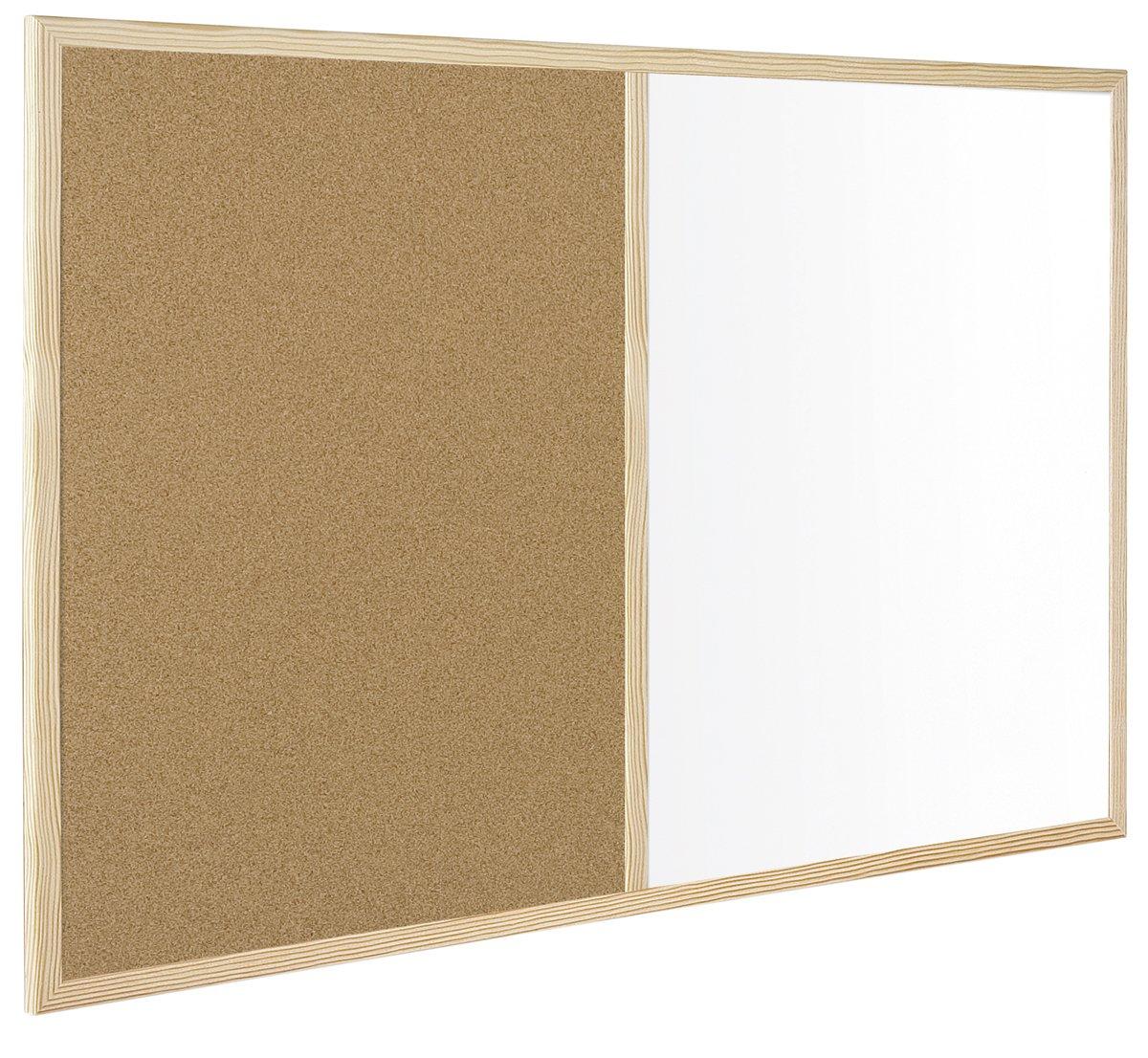 Bi-Office Budget - Tablero, 600 x 400 mm, y color marrón y mm, blanco 19fa94