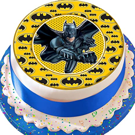Decorazione pretagliata per torte di compleanno, in glassa