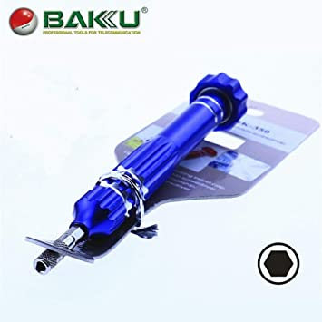 El destornillador de precisión magnético BAKU BK-350 Hex Socket, de ...