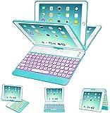 iPad Keyboard Case 9.7 for iPad 2018 (6th Gen) - 2017 (5th Gen) - iPad Pro 9.7 - iPad Air 2 & 1, 7 Color Backlit…