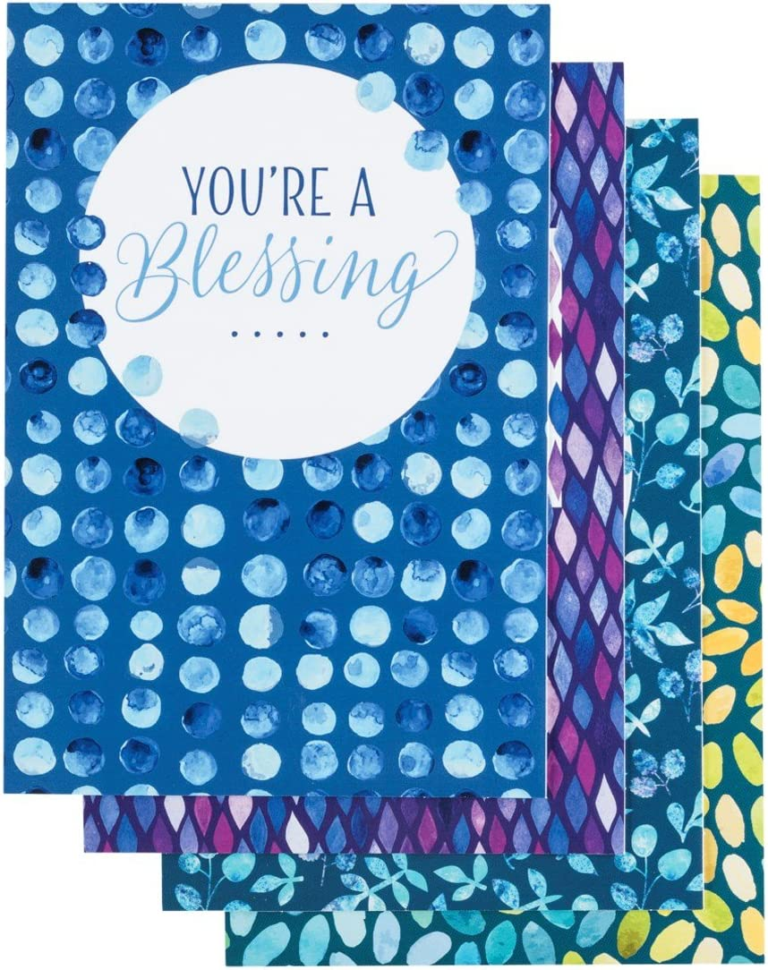 DaySpring Volunteer Appreciation - Inspirational Boxed Cards - Bright and Shimmering - 20352
