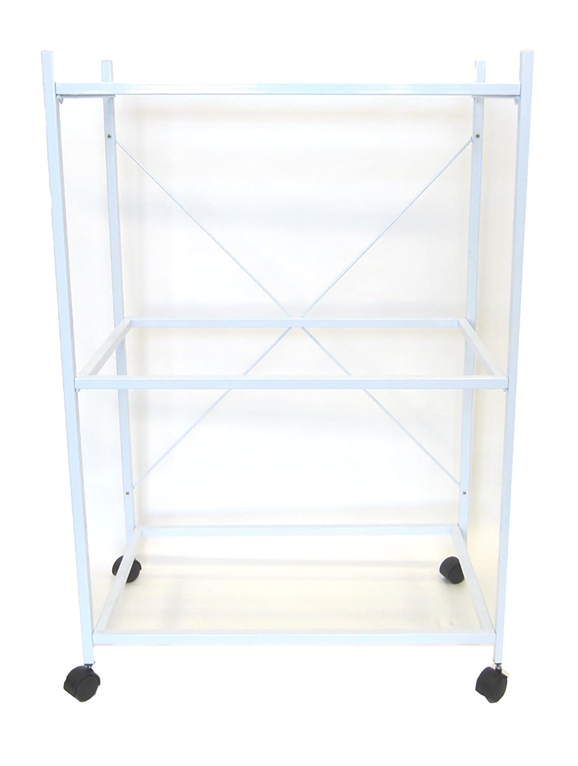 YML 3 Shelf Stand for 2464 and 2474, White 4164WHT