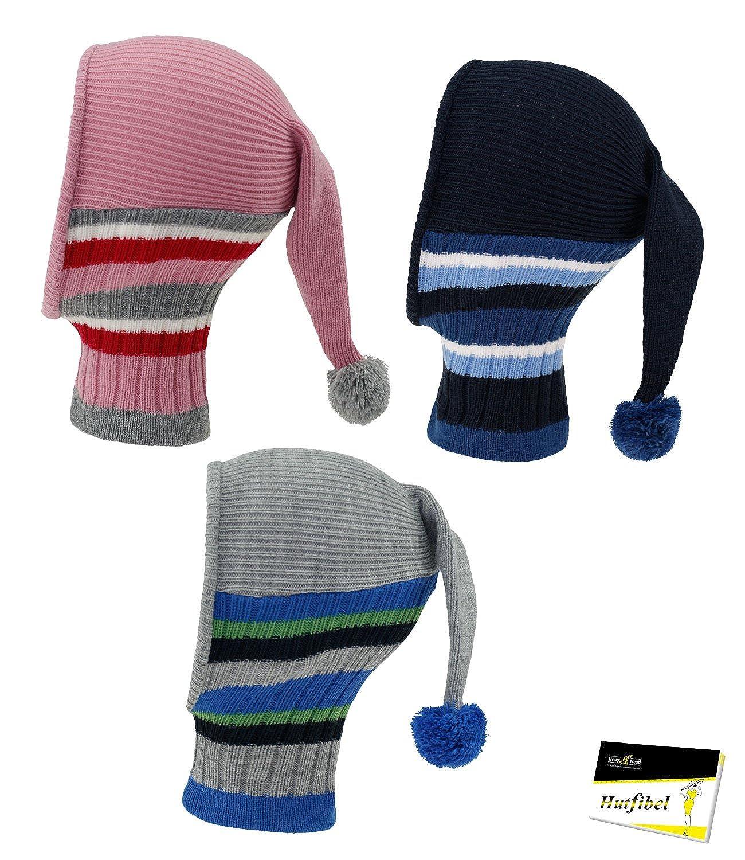 incl Fiebig Sciarpa Della Ragazza Berretto Scialle Tubolare Passamontagna In Maglia Cappello Invernale Nano Bambini FI-74569-W16-MA6 EveryHead-Hutfibel