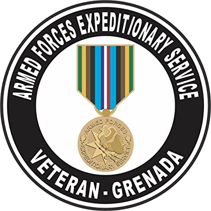 Amazon Com Militarybest Armed Forces Expeditionary Medal Grenada