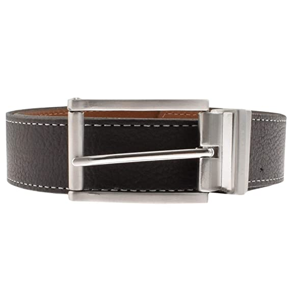 9abfd587196b Ted Baker Bream Reversible Leather Belt - Black   Brown  Amazon.co.uk   Clothing