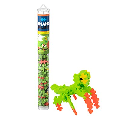 PLUS PLUS – Mini Maker Tube – Praying Mantis – 70 Piece, Construction Building STEM | STEAM Toy, Interlocking Mini Puzzle Blocks for Kids: Toys & Games