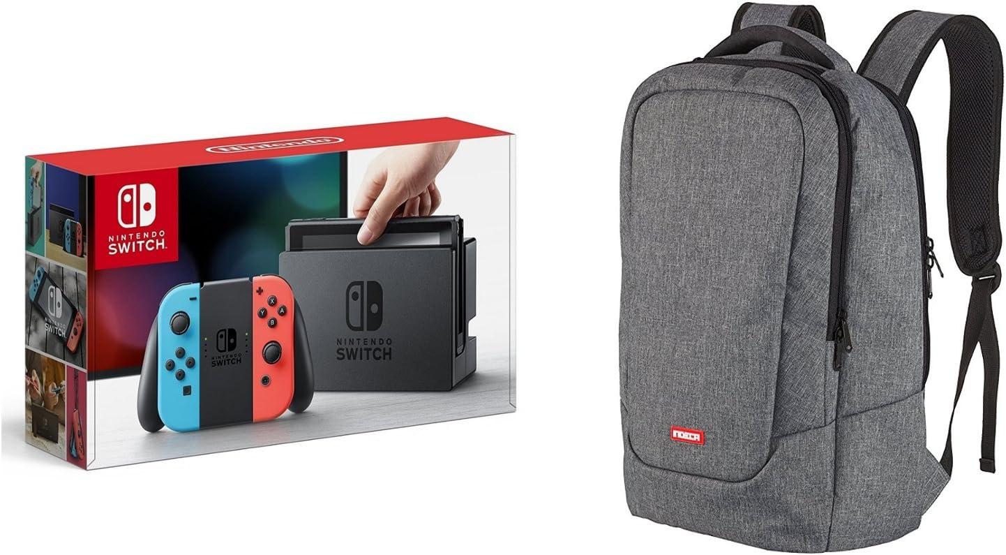 Nintendo Switch - Consola color Azul/Rojo + Bolsa Gaming (Indeca ...