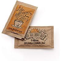 Sobres de azúcar moreno de Dirty Harry (500