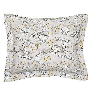 Amazon.com: roostery luna llena con brida funda de almohada ...