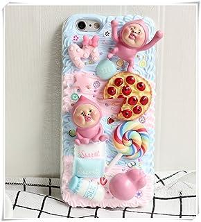 the latest 356d7 eb4fb Amazon.com: So Cute Unique Sweet Japanese Decoden Cellphone Case ...