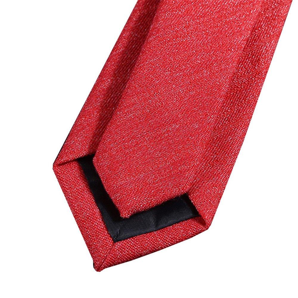 WERLM Los hombres elegantes de la versión estrecha corbata 6cm ...