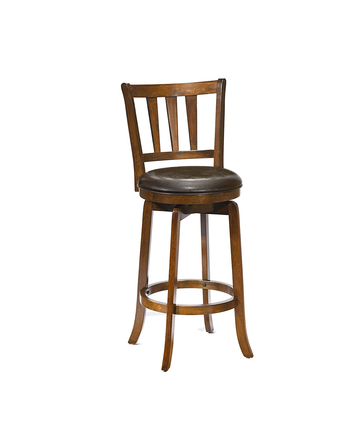 Hillsdale Presque Isle Swivel Bar Stool, Brown 4478-831