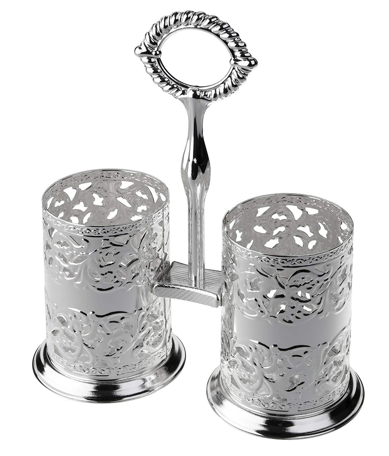 Cutlery Holder - Silver Plated 5966