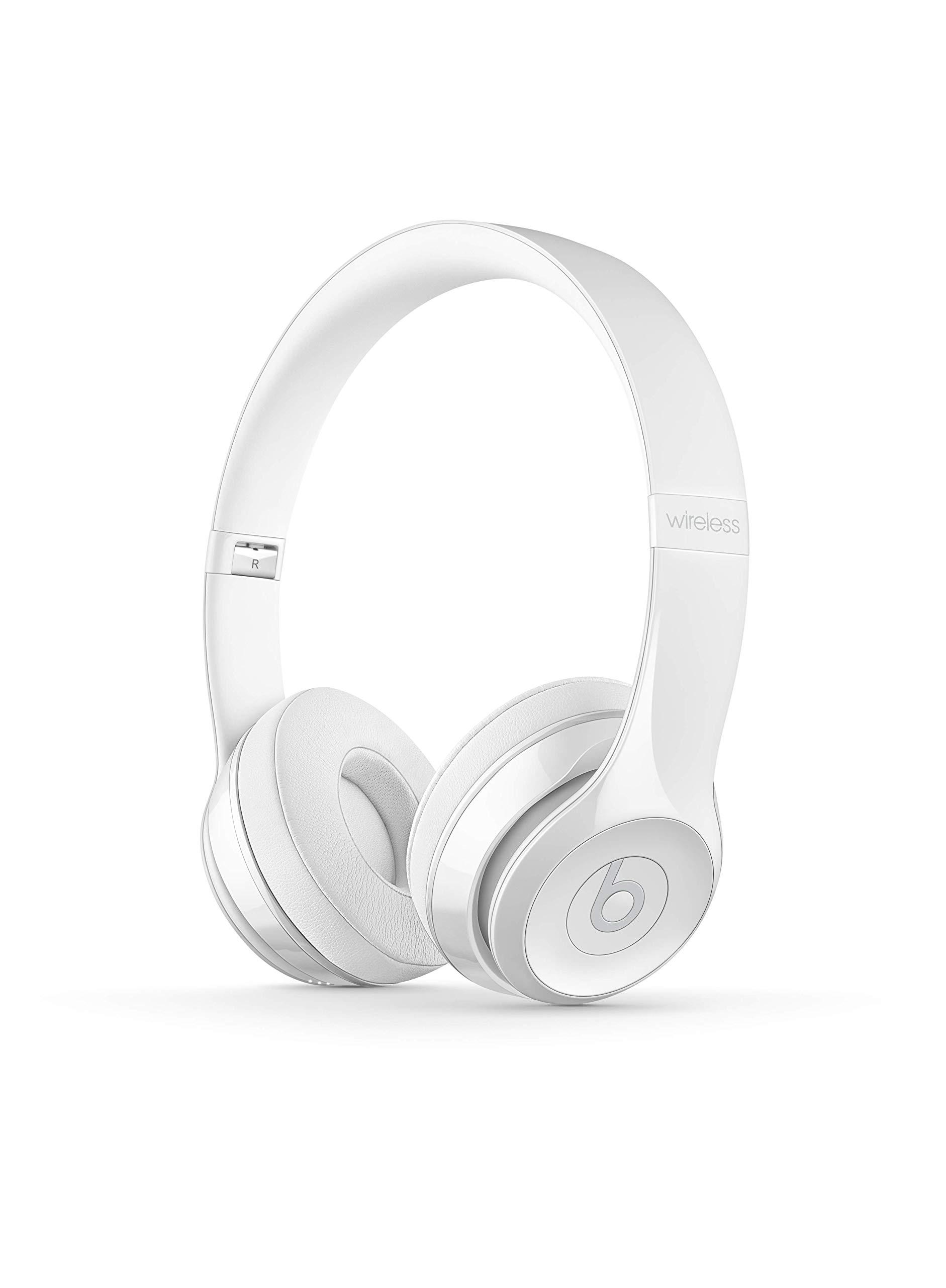 Beats Solo3 Wireless On-Ear Headphones - Gloss White by Beats