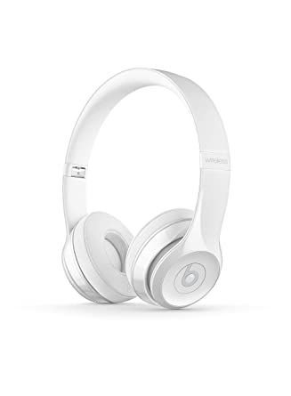 Amazon.com  Beats Solo3 Wireless On-Ear Headphones - Gloss White 88255bee9