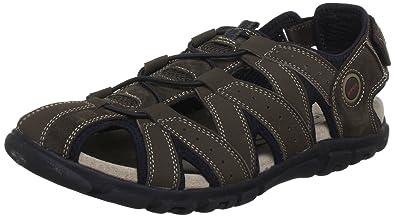 7f1bd71f1d61 Geox U S.STRADA G Sandals Mens Brown Braun (COFFEE C6009) Size  6 ...