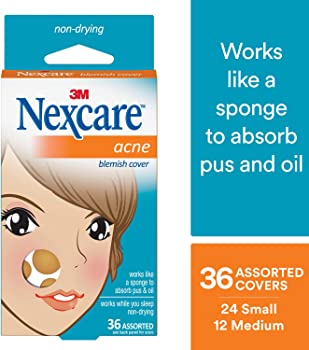 36-Count Nexcare Acne Cover Drug-Free Gentle Breathable Cover