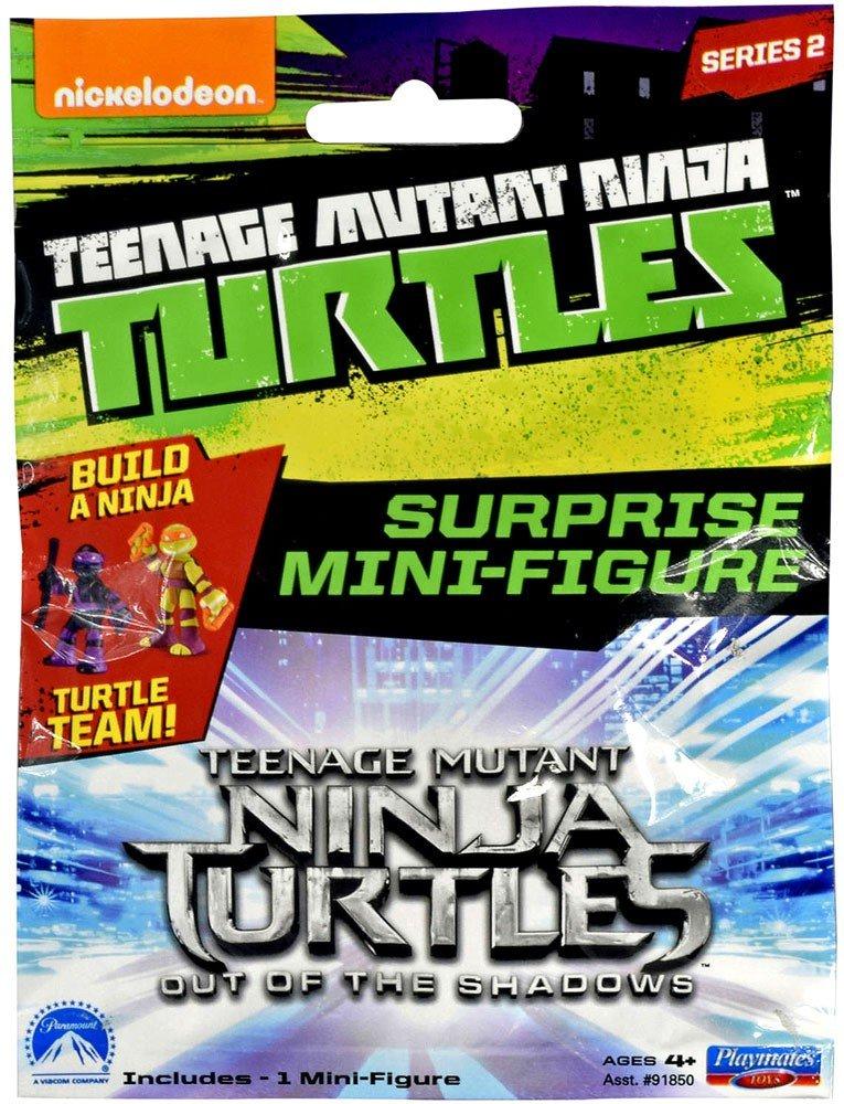 Teenage Mutant Ninja Turtles Blind Bag Mini Figures - Wave 3