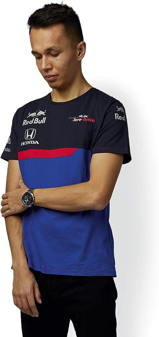 Red Bull Toro Rosso Official Teamline Camiseta, Azul Hombre XX ...