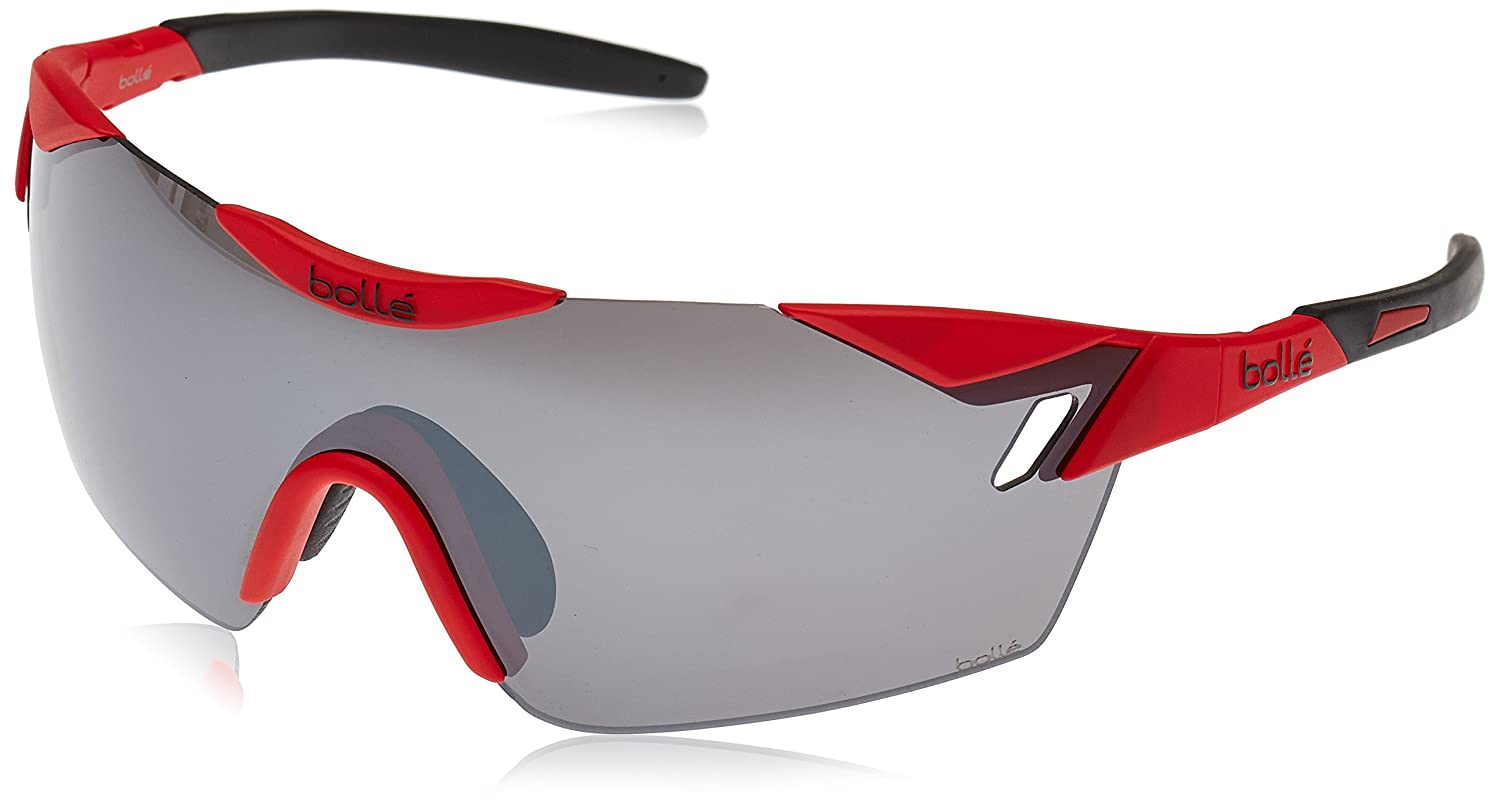 Bolle 12074 6th Sense Matte Red / Black Tns Gun Oleo Af Sunglasses