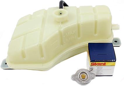 GENUINE ENGINE COOLANT RESERVOIR TANK w// CAP for 03-06 KIA SORENTO 25430-3E201