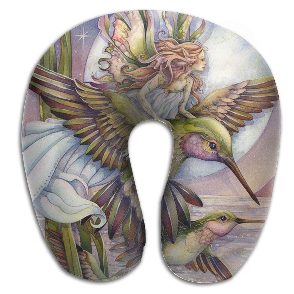 Oils Hummingbird Support Neck Pillow Spa Memory Foam U-SHAPE Help Neck Pain People