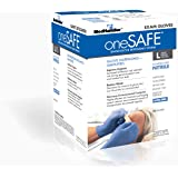 oneSAFE 103-1SF-116 MedHandler oneSAFE Exam-Grade, Nitrile, LG, Blue (Pack of 1000)