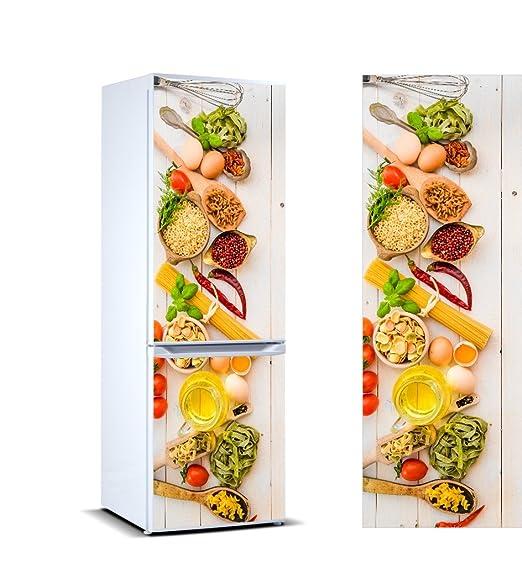 Pegatinas 3D Vinilo para Frigorífico verduras | Varias Medidas ...