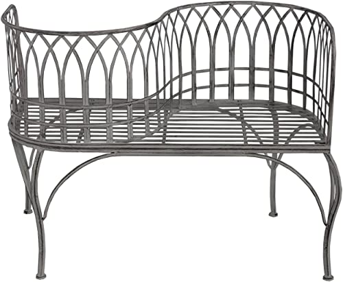 Oakland Living Curved Courting Bench Loveseat