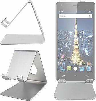 DURAGADGET Atril De Aluminio para Smartphone Cubot King Kong/Cubot Echo/Oukitel Mix 2: Amazon.es: Electrónica