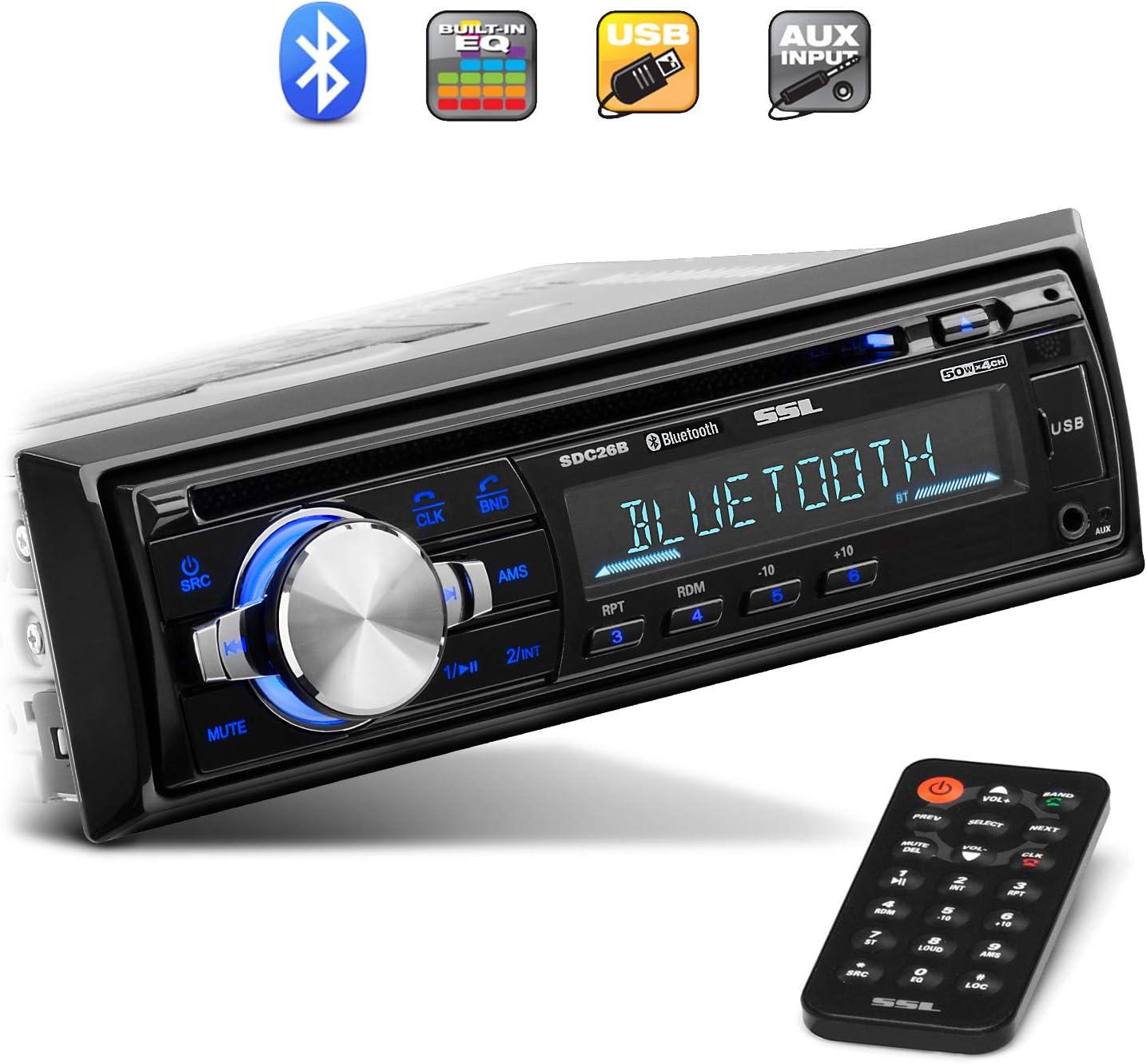 Sound Storm Laboratories Single Din Car Stereo Receiver