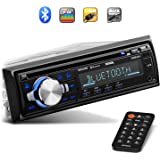 Sound Storm Laboratories SDC26B Car Stereo - Single Din, Bluetooth Audio and Hands-Free Calling, Built-in Microphone…