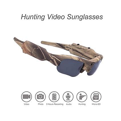 Amazon.com: OHO - Gafas de sol, cámara de grabación de vídeo ...